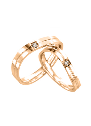[14K Gold]제이드 커플링Jade Couple ring j3275