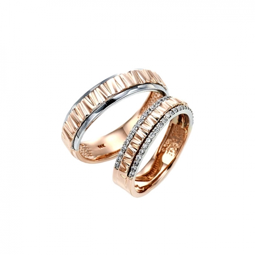 [14K Gold]캑터스 커플링Cactus Couple Ring j4956