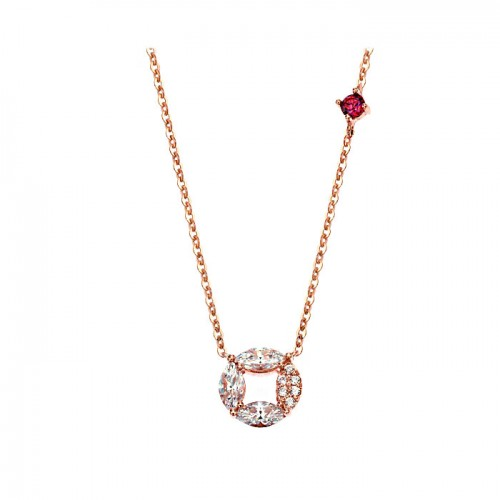 [14K Gold]로라 써클 목걸이Rora circle necklace j3818