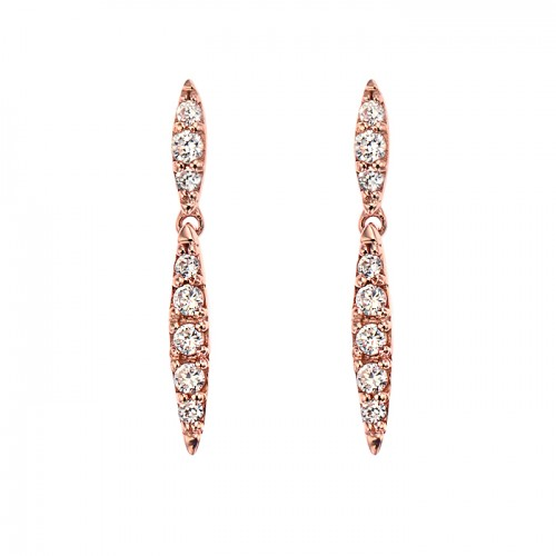 [14K Gold]연 라인 귀걸이Eyun line earrings j3646