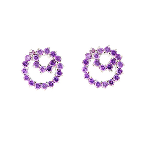 (Silver)바니 이어링 Bonnie Pierced Earrings