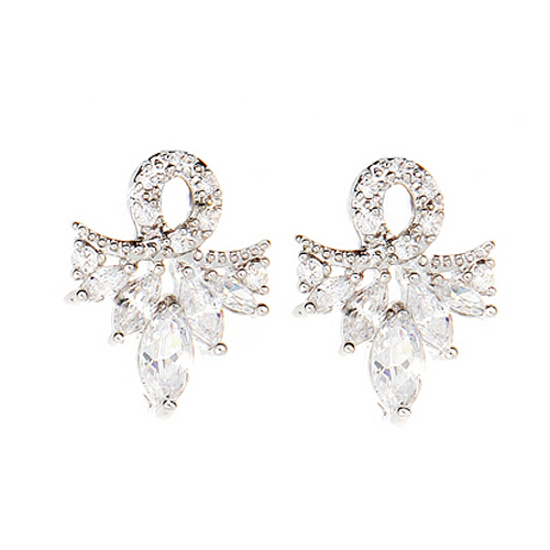 (Silver)수안나 이어링 Suanna Pierced Earrings
