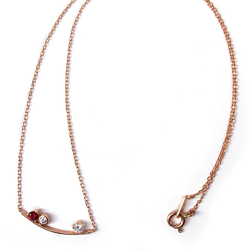 [14K Gold] 테이크 원 목걸이 Take One Necklace no.42