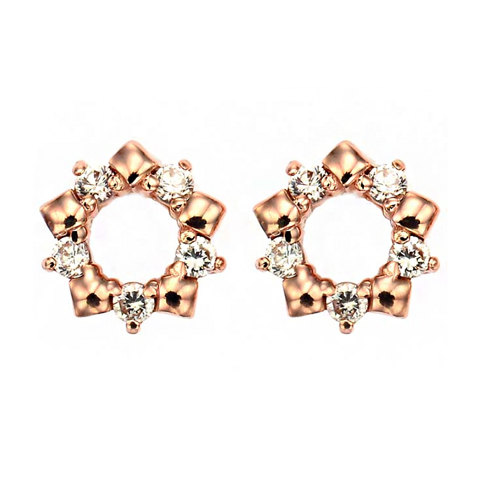 [14K Gold] 퓨어 스노우 귀걸이 Pure Snow Earring no. j3701