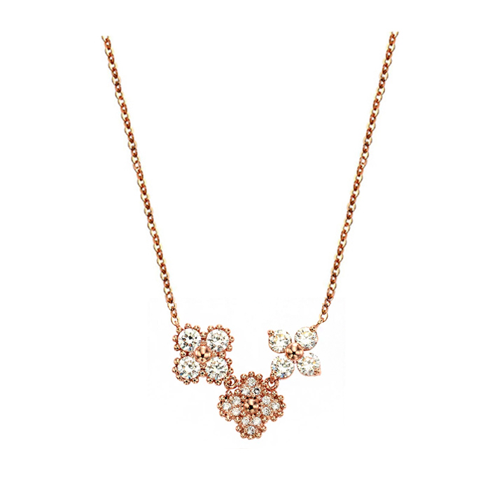 [14K Gold] 럭키 플라워 목걸이 Lucky flower Necklace no. j3291