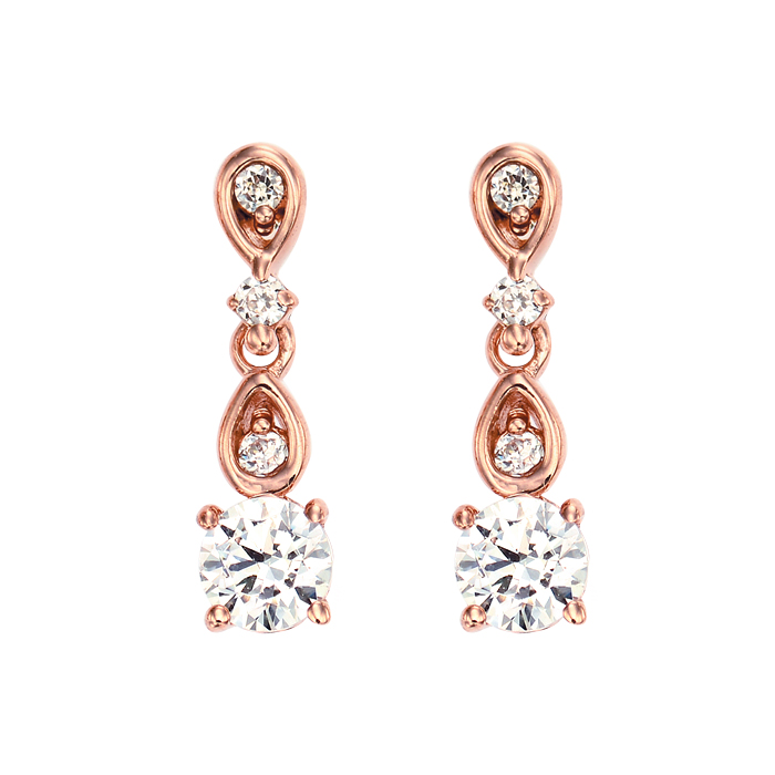[14K Gold]아델라 실루엣 귀걸이 Adela silhouette earrings j3185