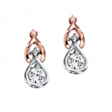 [14K Gold]더블 드롭 귀걸이Double drop earrings j3253