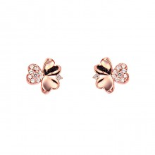 [14K Gold]클로버 드림 귀걸이Clover dream earrings j3706