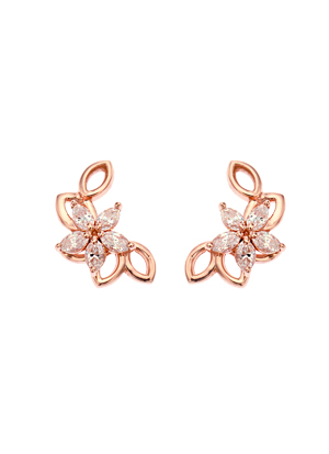 [14K Gold]도나 플라워 귀걸이Dona flower Earring j3811