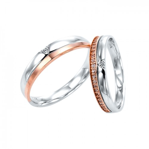 [14K Gold]칸나 커플링Canna Couple ring j3689