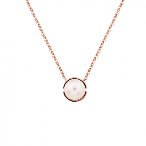 [14K/18K Gold]오 펄 목걸이O Pearl Necklace j6301
