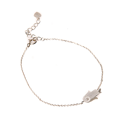 (Silver)럭키 핸드 팔찌 Lucky Hand Bracelet