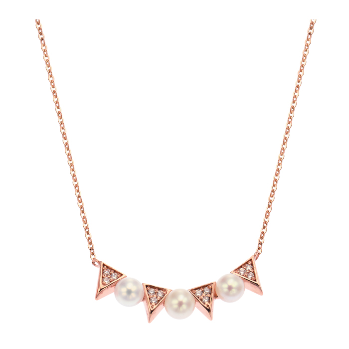 [14K Gold] 유니크 진주 목걸이 Unique Pearl Necklace no. j3831